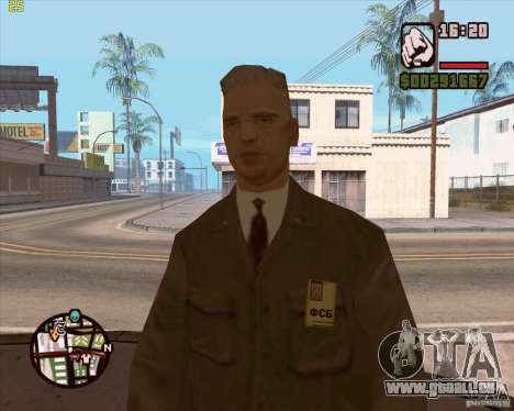 Service de sécurité russe pour GTA San Andreas sixième écran