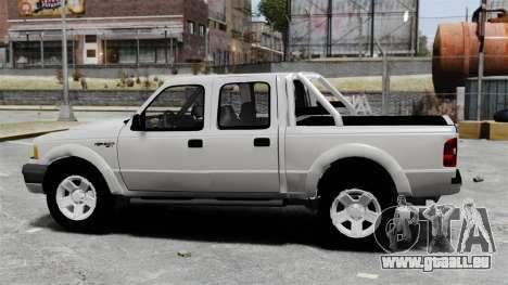 Ford Ranger 2008 XLR pour GTA 4 est une gauche