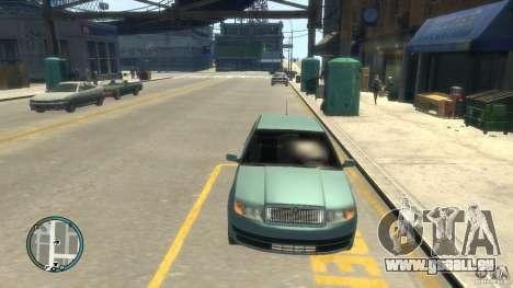 Skoda Fabia pour GTA 4 Vue arrière