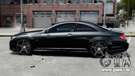Mercedes-Benz CL65 AMG v1.1 pour GTA 4 est une gauche