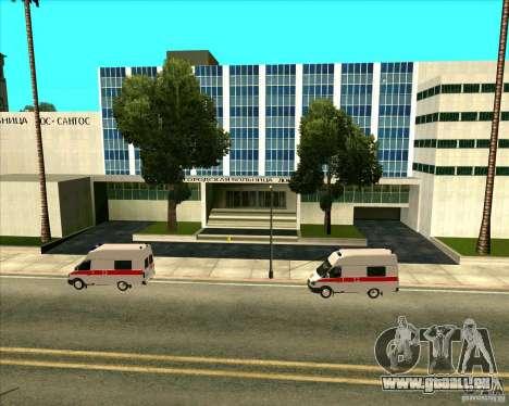 Véhicules stationnés v2.0 pour GTA San Andreas cinquième écran