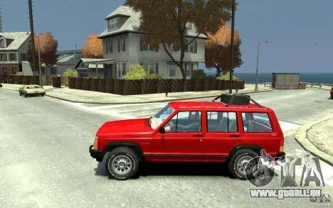 Jeep Cherokee 1984 pour GTA 4 est une gauche