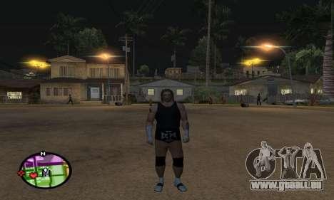 Triple H pour GTA San Andreas quatrième écran