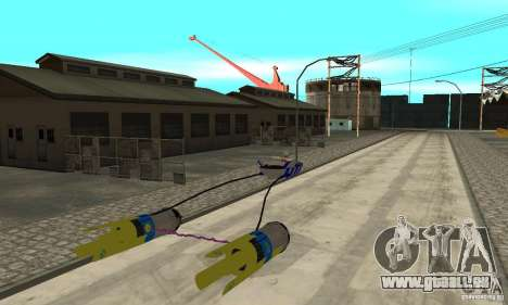 Star Wars Racer pour GTA San Andreas