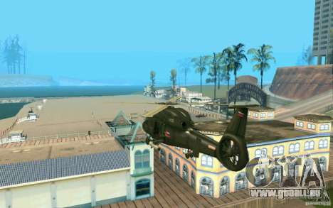 Ka-60 Kampfeinsatz für GTA San Andreas zurück linke Ansicht