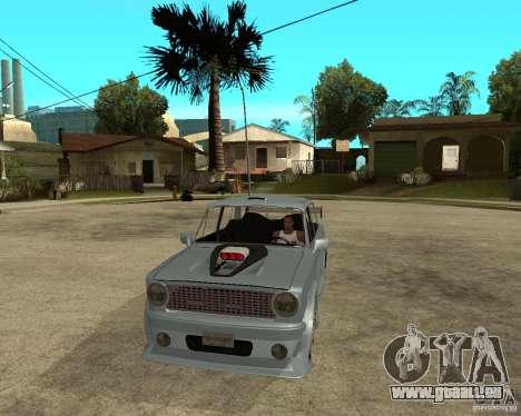 VAZ 2101 voiture TUNING par ANRI pour GTA San Andreas vue arrière