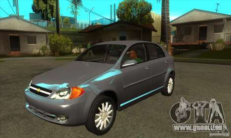 Chevrolet Optra 2011 Hatchback pour GTA San Andreas
