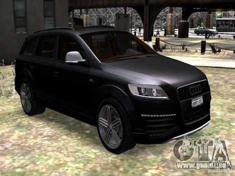 Audi Q7 V12 TDI Quattro Final pour GTA 4 Vue arrière