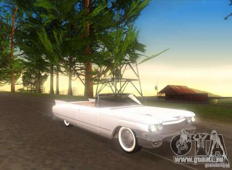 Cadillac Series 62 1960 für GTA San Andreas linke Ansicht
