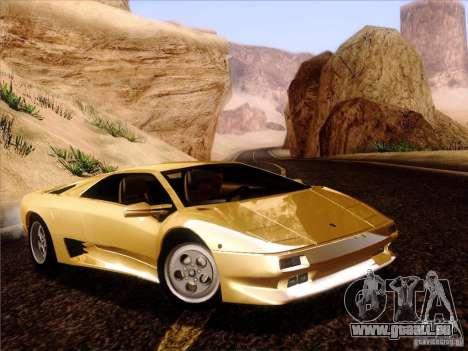 Lamborghini Diablo VT 1995 V3.0 für GTA San Andreas