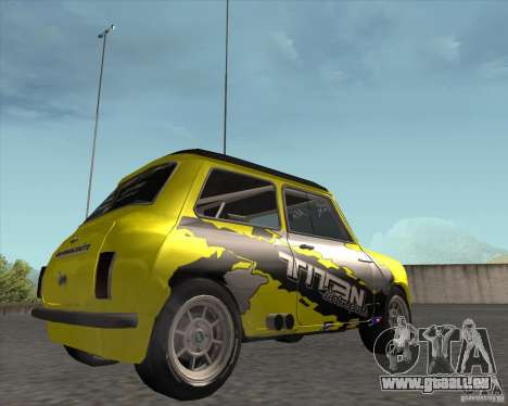 Mini Cooper S Titan Motorsports für GTA San Andreas rechten Ansicht