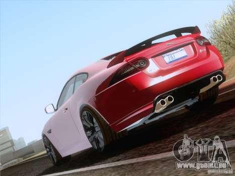 Jaguar XKR-S 2011 V2.0 pour GTA San Andreas vue de droite