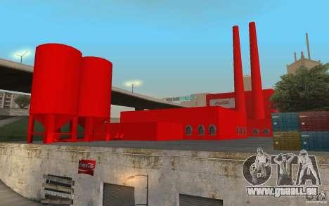 Die Coca-cola-Fabrik für GTA San Andreas