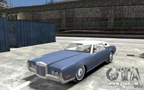 Lincoln Continental Mark IV 1972 pour GTA 4