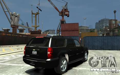 Chevrolet Suburban 2008 (beta) für GTA 4 rechte Ansicht