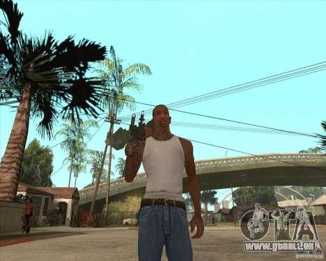 Die RPG-7 für GTA San Andreas zweiten Screenshot