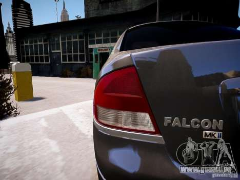 Ford Falcon XR-8 pour GTA 4 est une gauche