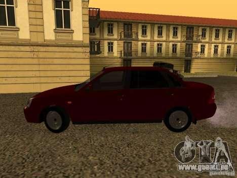 LADA 2170 Premier für GTA San Andreas zurück linke Ansicht