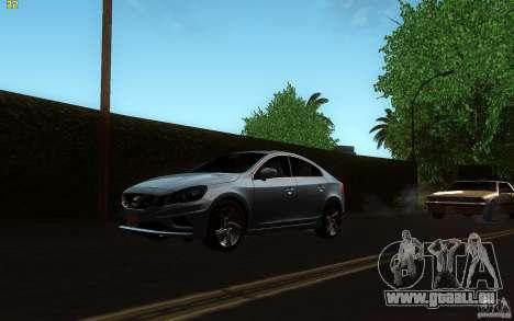 Volvo S60 2011 für GTA San Andreas linke Ansicht