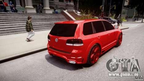 Volkswagen Touareg R50 2008 Tune (Beta) für GTA 4 hinten links Ansicht