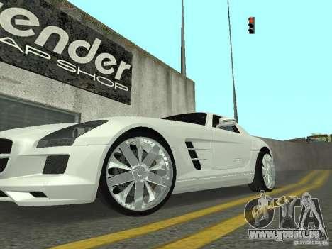 Luxury Wheels Pack pour GTA San Andreas deuxième écran