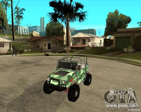 UAZ 469 HUNTER pour GTA San Andreas