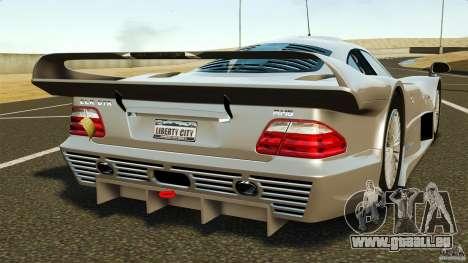 Mercedes-Benz CLK GTR AMG für GTA 4 hinten links Ansicht