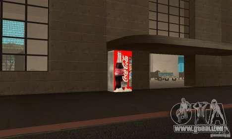 Cola Automat 6 pour GTA San Andreas deuxième écran