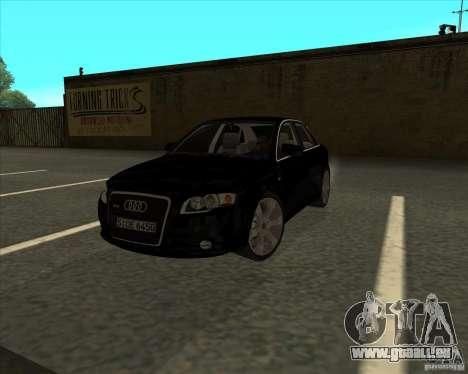 AUDI S4 Sport pour GTA San Andreas