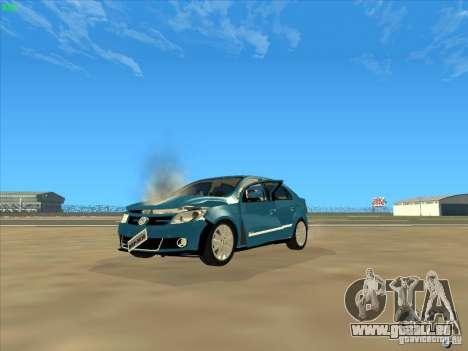 Volkswagen Voyage Comfortline 1.6 2009 für GTA San Andreas obere Ansicht