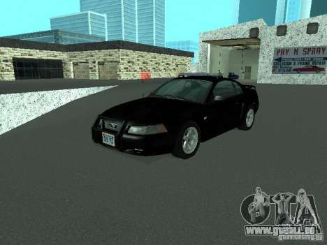 Ford Mustang GT Police pour GTA San Andreas
