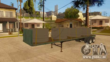 Chalut pour GTA San Andreas vue intérieure