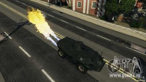 Tank Mod pour GTA 4 quatrième écran