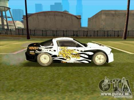 Ford Mustang Drag King from NFS Pro Street pour GTA San Andreas vue de droite