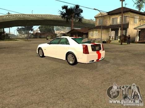 Cadillac CTS 2003 Tunable pour GTA San Andreas vue de côté
