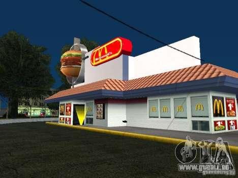 Mc Donalds pour GTA San Andreas
