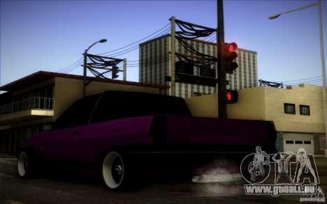 Volkswagen Polo Pickup pour GTA San Andreas vue de droite