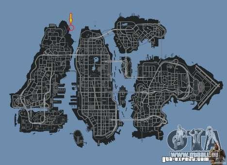 4x4 Trail The Reef pour GTA 4 quatrième écran