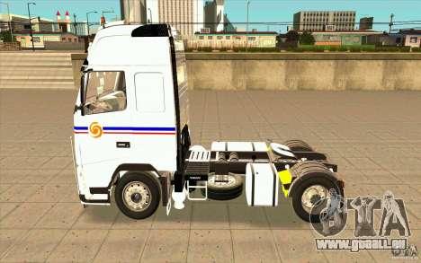 Volvo FH16 Globetrotter TRANSALLIANCE pour GTA San Andreas laissé vue
