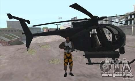 Care Package from MW2 pour GTA San Andreas deuxième écran
