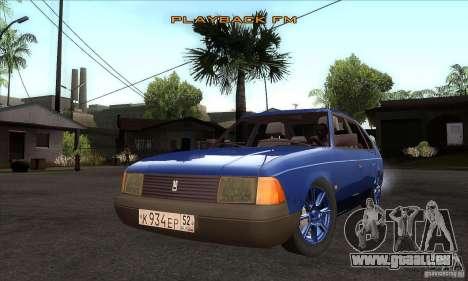 2141 AZLK personnes Edition pour GTA San Andreas