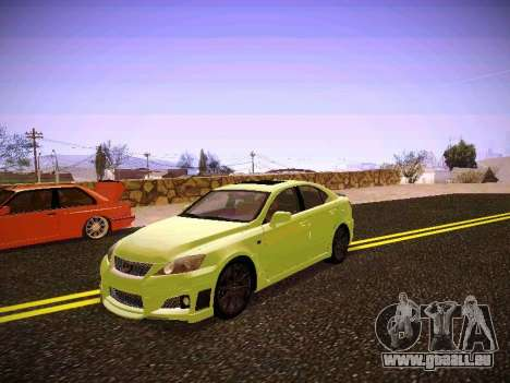 Lexus I SF pour GTA San Andreas