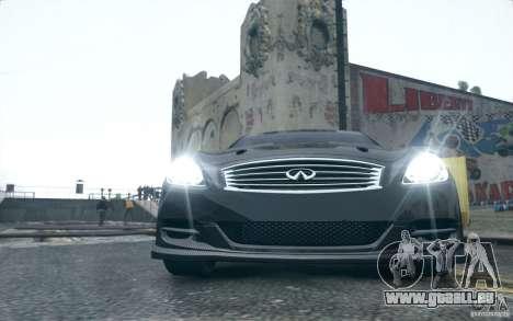 Infiniti G37 Coupe Carbon Edition v1.0 pour GTA 4 est une gauche