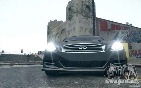 Infiniti G37 Coupe Carbon Edition v1.0 für GTA 4 linke Ansicht