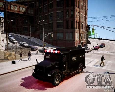 Russian Enforcer für GTA 4 linke Ansicht