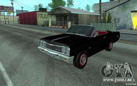 Chevrolet Impala SS 1964 pour GTA San Andreas