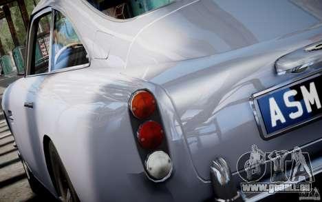 Aston Martin DB5 1964 pour GTA 4 est une gauche