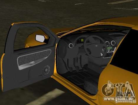 Lada Granta v2.0 für GTA Vice City Innenansicht
