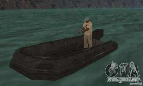 Bateau de Cod mw 2 pour GTA San Andreas