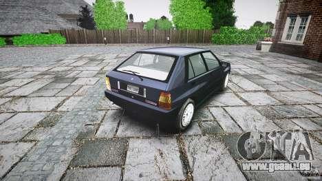 Lancia Delta HF 4WD pour GTA 4 Vue arrière de la gauche